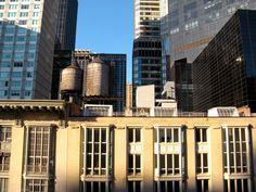 View from the Salisbury Hotel next to Carnigie Hall - New York City, USA