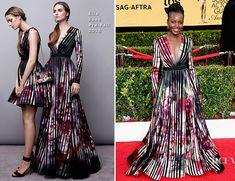 Lupita Nyong'o In Elie Saab – 2015 SAG Awards