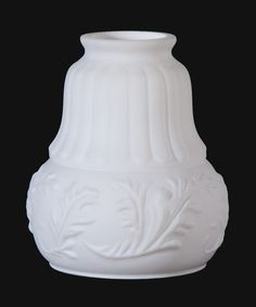 Early Style Embossed Leaves Fixture Shade 08406 | Antique Lamp Supply