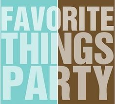 Pinterest Favorite Things Party.  Sounds so fun!!!