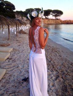 Mariage hippie sur la plage de palombaggia mariage for Robes pour un mariage sur la plage