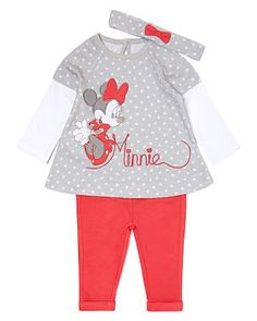 Minnie Mouse Baby Outfit