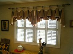 new dining room curtains??  Simplicity 5696