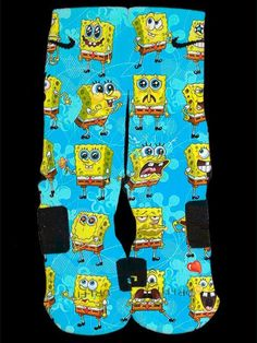 My cousin would love these. According to her, she's married to Sponge Bob... however that works.