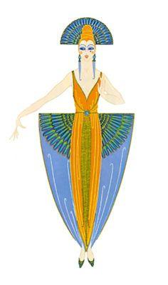 Costume Design - Erte - by style - Art Deco