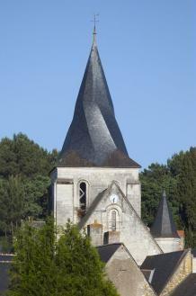 [Fontaine-Guérin] à 25 minutes du chateau de Chambiers, découvrez les églises du Baugois et leurs clochers vrillés