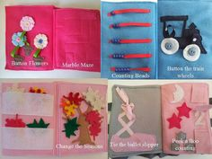 Custom Listing Quiet Book with 10 activites by HandcraftingHarmony