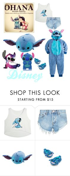 """Disney: LILO and STITCH"" by flute1704 on Polyvore featuring OneTeaspoon"