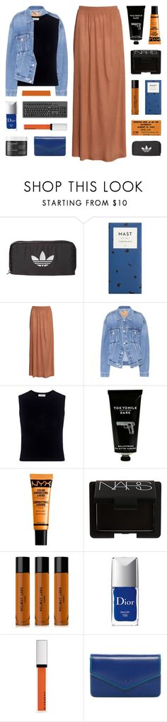 take me somewhere new by kristen-gregory-sexy-sports-babe on Polyvore featuring A.L.C., Balenciaga, H&M, Lodis, adidas Originals, NARS Cosmetics, NYX, Givenchy, Helmut Lang and TokyoMilk
