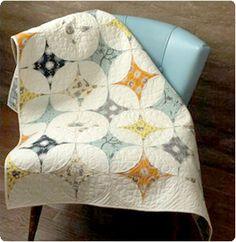 Initial K Studio - The Cascade Quilt | Pattern : retro quilts - Adamdwight.com