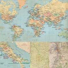 Wrap It Up, Maps of the World
