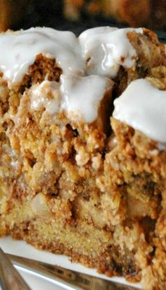 Apple Cake with Honey Glaze Recipe ~ Delicious and moist, this cake is filled with apples, cinnamon and nuts!. If you like Jewish/Kosher cooking visit our recipes or why not try a FOOD TOUR on your next trip to Israel Find out more at: http://www.allaboutcuisines.com/food-tours/israel/in/israel #Kosher Recipes #Rosh Hashanah