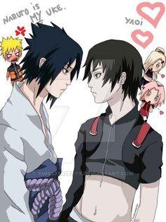 Ships Sainaru and Sasunaru Naruto And Sasuke Kiss, Naruto Cute, Naruto Funny, Sasuke Uchiha, Anime Naruto, Sasunaru, Narusasu, Boruto, Naruto Teams