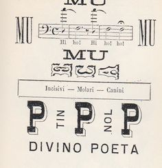 A precursor to the Futurists: Italian rebus, late 1800s, via daily heller