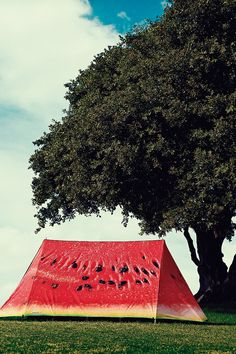 Field Candy What a Melon Tent http://uoeur.pe/uohomewares #Home #UrbanOutfittersEurope