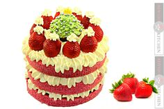 Reteta Tort Santa - Santa Cake -Adygio Kitchen #xmas #adygio Santa Cake, Cake Recipes, Raspberry, Cheesecake, Xmas, Make It Yourself, Fruit, Martha Stewart, Kitchen