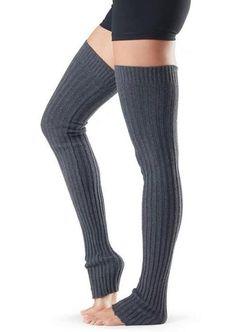Thigh High Leg Warmers, Yoga Fashion, One Piece Swimwear, Long Legs, Thigh Highs, Dance Wear, Sexy Legs, How To Look Pretty, Thighs