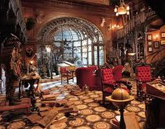 Image result for steampunk home decorating ideas