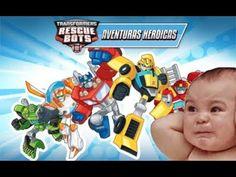 Transformers Rescue Bots en español | Juegos Para niños Pequeños 2020