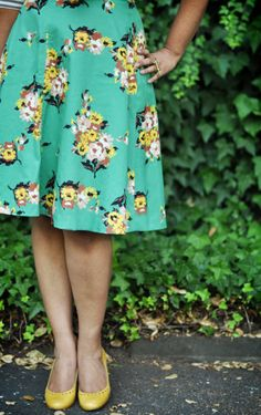 I've been eyeing this skirt from Anthro for a long time....  Now to find it!