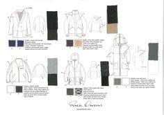 Flat Drawings Board - Jackets/Coats