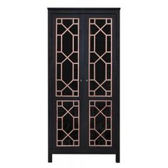 O'verlays Chip Double Kit for Ikea Hemnes Glass or Paneled 2 Door Cabinet