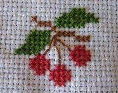 Cross Stitch Fruit, Tiny Cross Stitch, Cross Stitch Kitchen, Cross Stitch Borders, Simple Cross Stitch, Cross Stitch Flowers, Modern Cross Stitch, Cross Stitch Designs, Cross Stitching