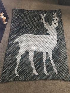 Ravelry: Big buck blanket corner to corner deer R. Ravelry: Big buck blanket corner to corner deer Ravelry: Big buck blanket . Crochet Afghans, Crochet C2c Pattern, C2c Crochet Blanket, Afghan Crochet Patterns, Yarn Projects, Knitting Projects, Crochet Projects, Crochet Deer, Corner To Corner Crochet