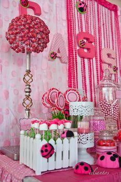 Pink Ladybug Birthday Party