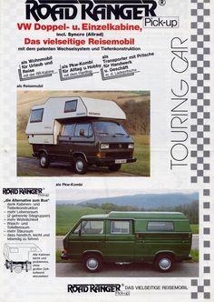 Cool Campers, Rv Campers, Camper Van, Vw Doka, Vw T3 Syncro, Vw Bus T1, Volkswagen Transporter, Pick Up, T2 T3