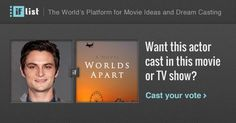 Shiloh Fernandez as Joshua Garland. in Worlds Apart? Support this movie proposal or make your own on The IF List.