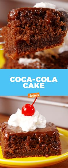 Coca-Cola fans ... once you try this cake, you'll never stop craving it. Get the recipe from Delish.com.
