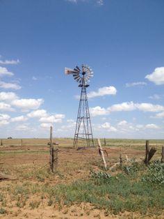Texas Windmill - where Grandma lived.