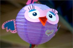 DIY Hootabelle Paper lantern kit by GOTMEPEGGED on Etsy, $15.00