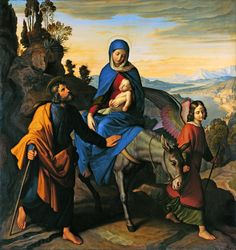 Day 2 Novena to Our Lady of Sorrows #pinterest  I grieve for thee, O Mary most sorrowful, in the anguish of thy most affectionate heart during the flight into Egypt and thy sojourn there.........| Awestruck