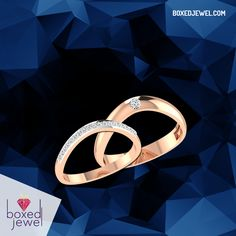 For the people who'd choose each other, over and over, again and again! #CoupleBands for the love birds! www.boxedjewel.com #jewellery