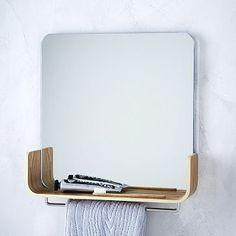 Universal Expert Mirror Shelf #westelm