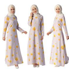 Muslim abaya dress for women Islamic dresses dubai Islamic clothing Muslim kaftan abaya Dress turkish jilbab hijab 044 clothing Women's Fashion Dresses, Hijab Fashion, Korean Fashion, Muslim Hijab, Muslim Dress, Simple Hijab, Dubai, Vogue, Islamic Clothing