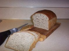 Low carb bread- supposed to be the best! Healthy Bread Recipes, Fun Baking Recipes, Chef Recipes, Low Carb Recipes, Flour Recipes, Dessert Recipes, Desserts, Low Carb Bread, Low Carb Keto