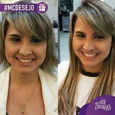 """@mulher_cheirosa's photo: """"Bom dia! Cabelos longos e super hidratados... Que mulher não quer? Mega hair com queratina, feito pelos melhores profissionais na Mulher Cheirosa! #MCdesejo #megahair #welove"""""""
