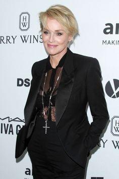 Sharon Stone, femme cougar