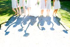 Unique Bridal party photography, Bridal Party poses, Have fun with your girls!