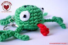 Miky The Frog by UnaFormaDArteCrochet #italiasmartteam #etsy