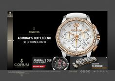 watch webdesign Watch Ad, Fashion Watches, Michael Kors Watch, Chronograph, Web Design, Accessories, Design Web, Website Designs, Site Design