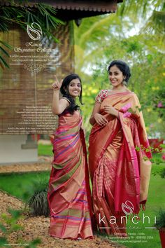 Kanchi Bridal saree collection To place an order-  FB: https://web.facebook.comkanchi.signature.collection/  Whts app - 08089813556   Website - www.kanchisignaturecollection.in  Email -kanchi.signature@gmail.com