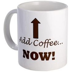 Instant human: Just add coffee..