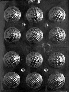 3D Golf Balls Chocolate Candy Mold  3 Count -- You can get additional details at the image link.(This is an Amazon affiliate link)
