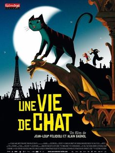 """""""Quite simply one of the most charming piece of animation I've seen all year, the first trailer has arrived for Alain Gagnol and Jean-Loup Feliciolli's A Cat In Paris (Une Vie De Chat)."""""""