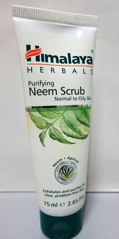 Himalaya Herbals purifying Neem scrub - 75ml