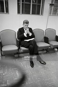News Photo : Senator John F. Kennedy, Democratic presidential...